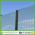2.05m High Powder Cotaed Security 358 Clearvu Security Fencing
