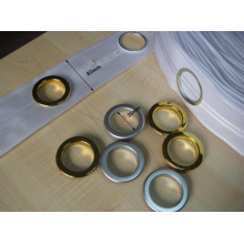 Decorative Curtain Tape with Eyelet38mm and Wide 7.5-8 Cm