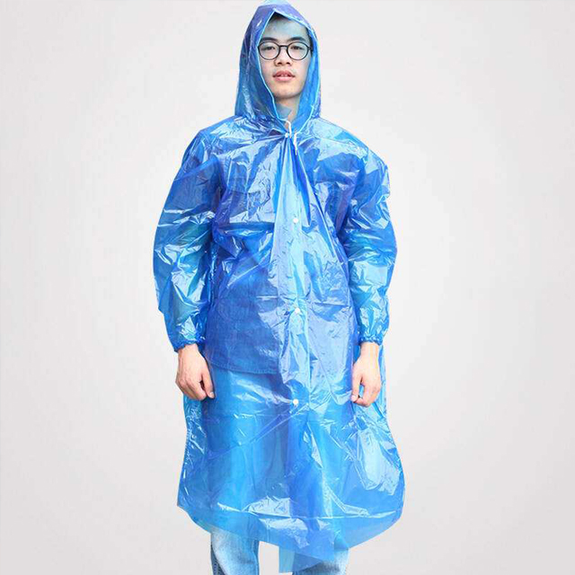 raincoat with button
