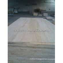 Block board with poplar core