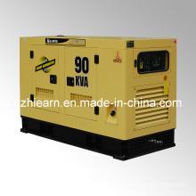 Tipo silencioso de generador diesel refrigerado por agua (GF2-90kVA)