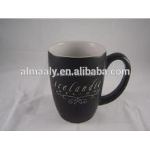 schwarzer Stein Becher Kaffeetasse