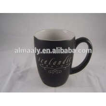 black stone mug coffee cup