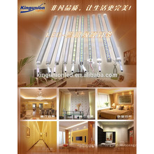 Заводская цена жесткой светодиодной ленты с алюминиевым профилем хорошего материала PCB теплый белый светодиодной ленты