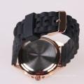 luxury watch silicone strap watch,China watch supplier
