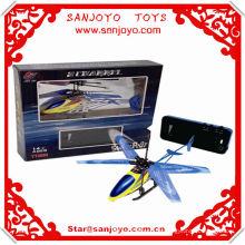 TT666 Mini 2CH RC Helicóptero con luz Para Regalo de Niños Fuertes Ultraligeros RC juguetes