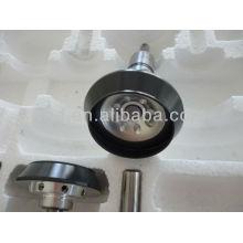 Pièces de rechange rotatives rotor roulement noir Anode Yang éloxal coating PLC73-1-50 + 54mm