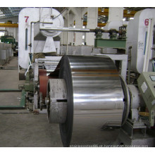 Bobina de aço inoxidável 201 com revestimento 2b laminada a alta qualidade