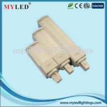 high quality SMD2835 2pin g24 pl led light 7w with competitive price