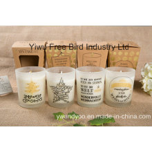 Long Burning Time Scented Soy Massage Oil Candle with Special Design