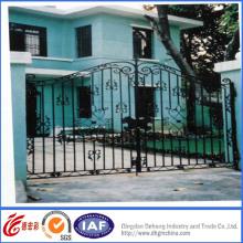 Puerta de entrada de hierro forjado de calidad superior