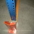Unidade de cremalheira em aço no sistema de paletização