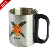Parede dupla isolação vácuo de aço inoxidável copo de café