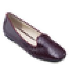 Chic sapatos casuais 2016 mocassins sapatos mulheres corco pu couro flats bailarina