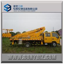 20m Telescopic Booms Isuzu 600p Aerial Platform Truck