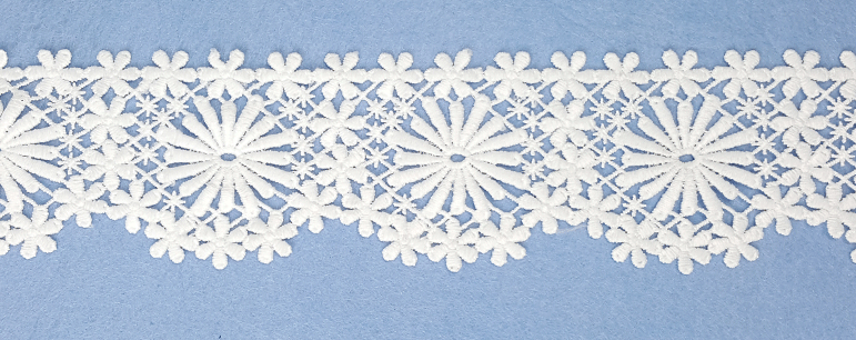 embroidery lace trimming