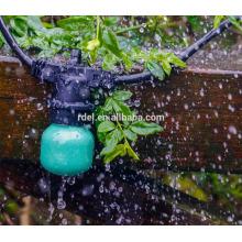 SLT-144 schwarze Schnur 5mm LED warmweiße Weihnachten dekorative Lichterketten
