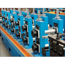 Welded pipe making roll forming machine
