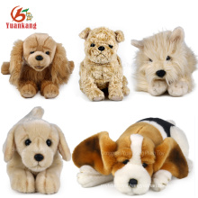 2017 Best Made Soft Toys Dog Custom Plush Toys 25cm Dog Doll Stuffed Animal Toy