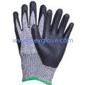 Schneiden Sie den resistenten Handschuh