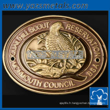 personnaliser les médailles de métal, les médaillons personnalisés sur mesure