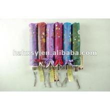 Changement de tissu mince parapluie de soleil de couleur