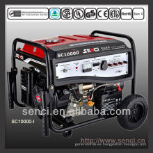 8500 vatios SC10000-I Generador portátil de gasolina monofásica 50Hz