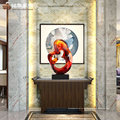 Moderne Skulptur Innendekoration Luxus Statue für Büro