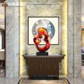 Escultura moderna decoração de interiores estátua de luxo para escritório