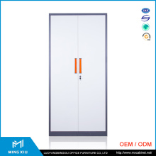 China Mingxiu 2 Door Metal Clothes Storage Cabinet / Cheap Steel Cabinet