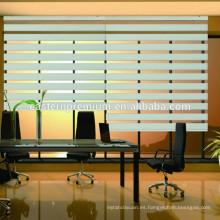 Elegante casa decoración ventana motorizada cebra ciegas