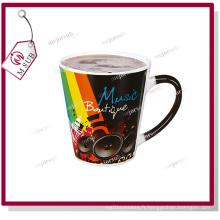 12oz Sublimation magie noire tasses avec Photo personnalisée