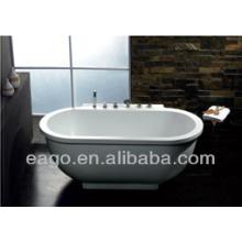 EAGO Oval Acrylic whirlpool Massage bathtub