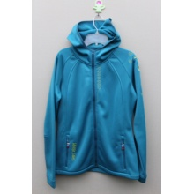 100%POLYESTER BONDED FLEECE Ladies JACKET