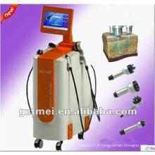 5MHz Multipolar RF & vacuum peau rejuvenation et rf machine