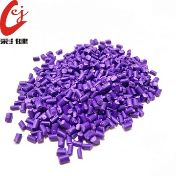 Purple Color Masterbatch Granulat
