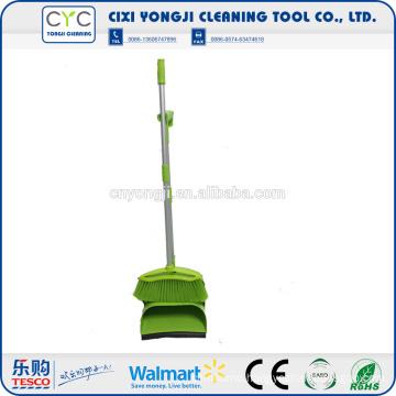 2016 high quality durable broom plastic dustpan set
