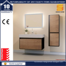 Hot Selling Melamine and Black Lacquer Bathroom Vanities