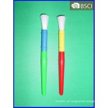 Escova da arte do punho do plástico da cor dobro (AB-006)