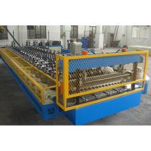 Rolo automático completo automático do telhado do metal YTSING-YD-0497 que forma a máquina para folhas de aço onduladas da cor