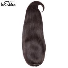 Gerade volle Spitze-Menschenhaar-Perücken für schwarze Frauen geben Teil 130% Dichte Remy unverarbeitete Jungfrau-Haar-Verkäufer frei