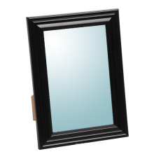 Plastic Makeup Mirror in Black for Home Decoration