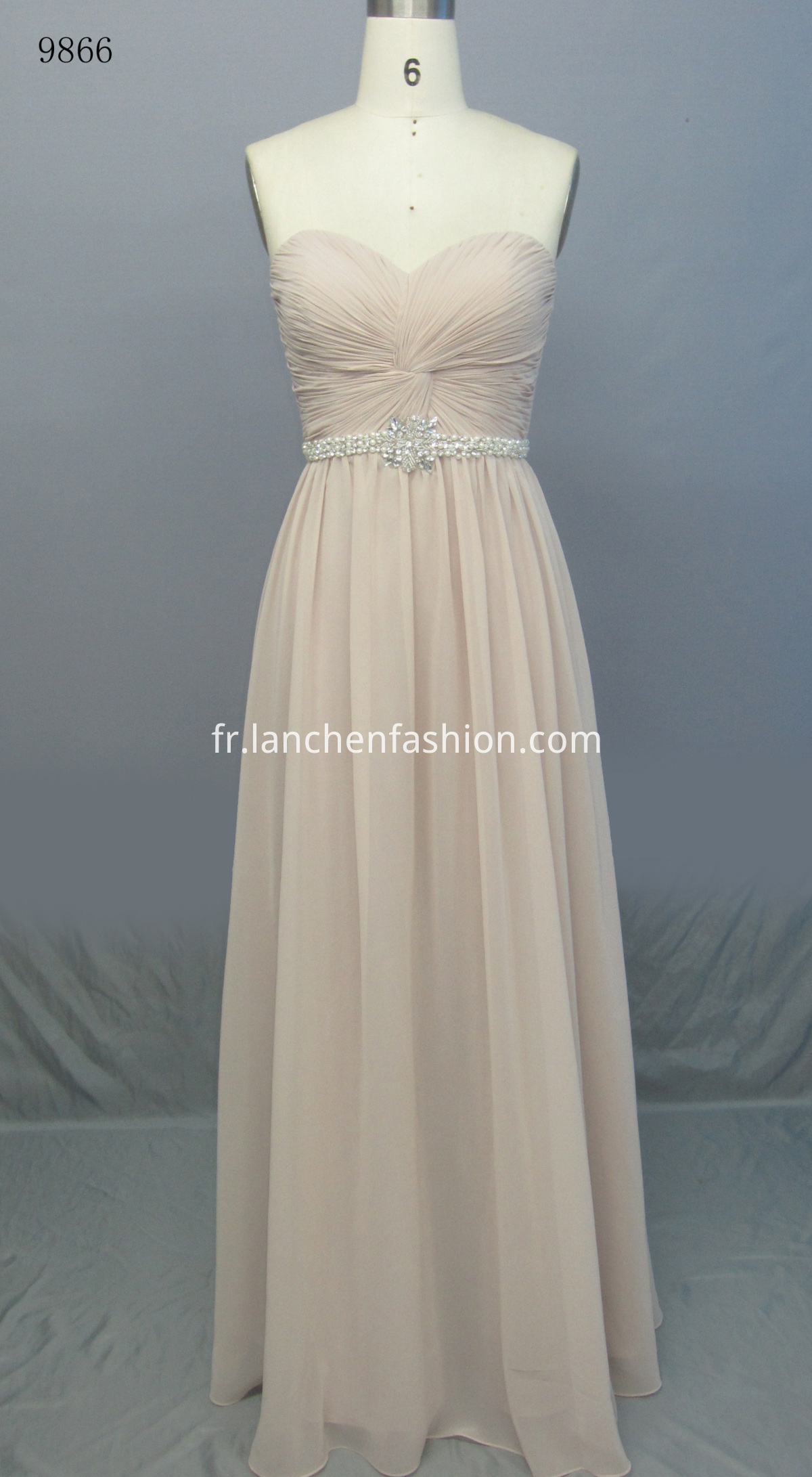 Elegant Maxi Dress KHAKI
