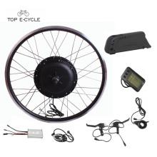 TOP diy voll wasserdicht Kabel Fahrrad Elektromotor Kit mit Batterie