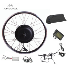 TOP diy full waterproof cable bicycle electric motor kit with battery