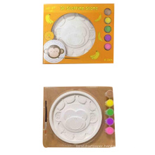 Kids DIY coloring toy plaster