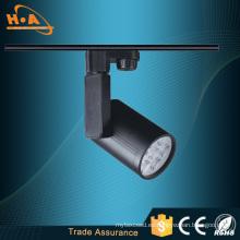 Iluminación LED de la pista de la luz de la pista de la aplicación comercial de la cubierta del PVC 5W