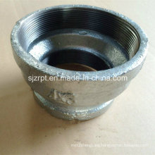 """4*3"""" Banded Galvanized Reducing Coupling Malleable Iron Pipe Fitting"""