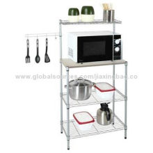 High Quality Adjustable Kitchen Shelf, OEM Orders are Welcome