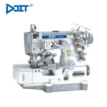 DT500-02BB máquina de coser de enclavamiento para cintas adhesivas en la camiseta